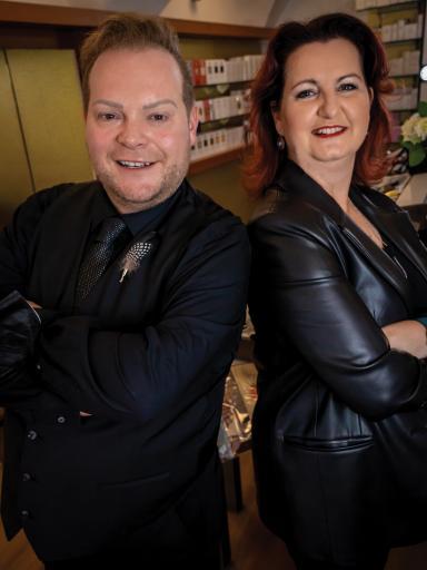 Team Villach Mario Holl und Marion Assek