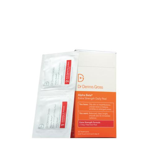 DR DENNIS GROSS Alpha Beta Extra Strength Daily Peel 30 Pack