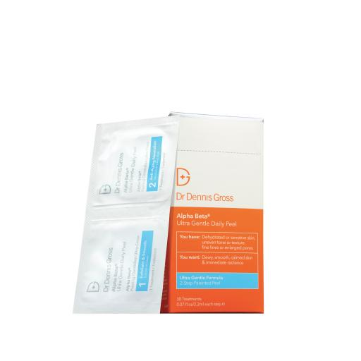 DR DENNIS GROSS Alpha Beta Ultra Gentle Daily Peel 30 Pack