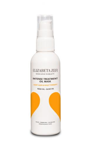 Elizabeta Zefi Dedicated To Beauty orange Intense Treatment Oil Mask