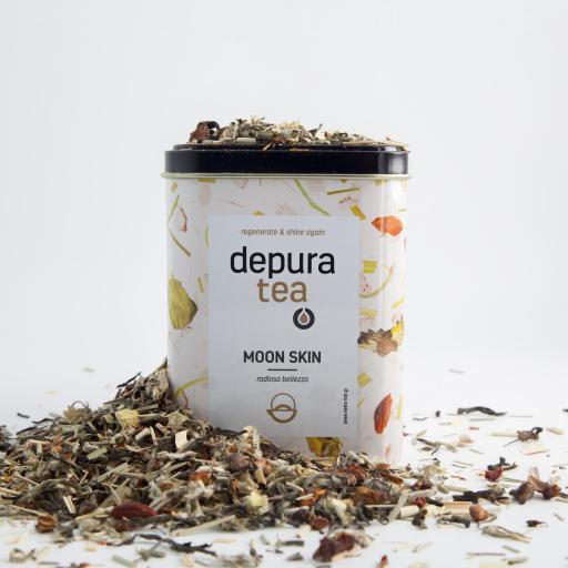 DEPURAVITA Moonskin mit Tee