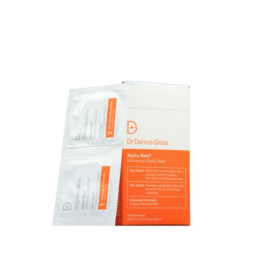 DR DENNIS GROSS Alpha Beta Universal Daily Peel 30 Pack