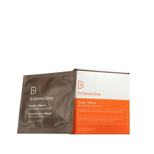 DR DENNIS GROSS Ferulic+Retinol Wrinkle Recovery Peel 16 Pack