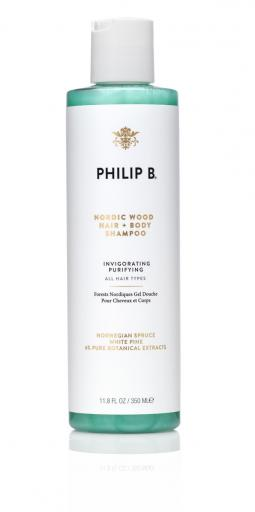 PHILIP B Nordic Wood Hair & Body Shampoo 350ml