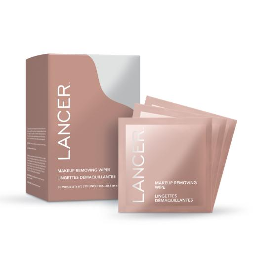 LANCER Makeup Remover Wipes