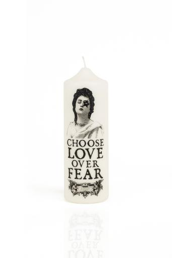 CORETERNO Visionary Pillar Candle Love