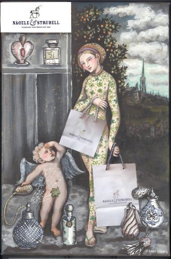 Kunst & Schönheit ImageCollageNr 3 Kind mit Copyright
