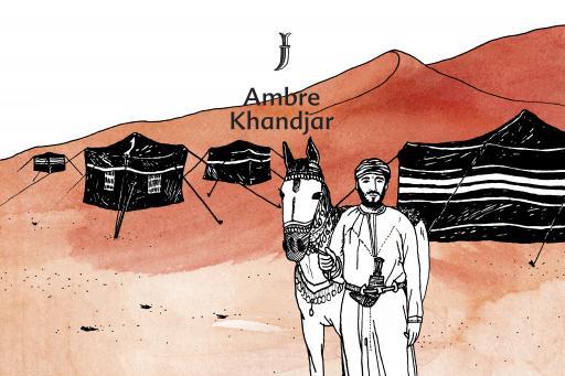 Une Nuit Nomade Ambre Khandjar Illustration
