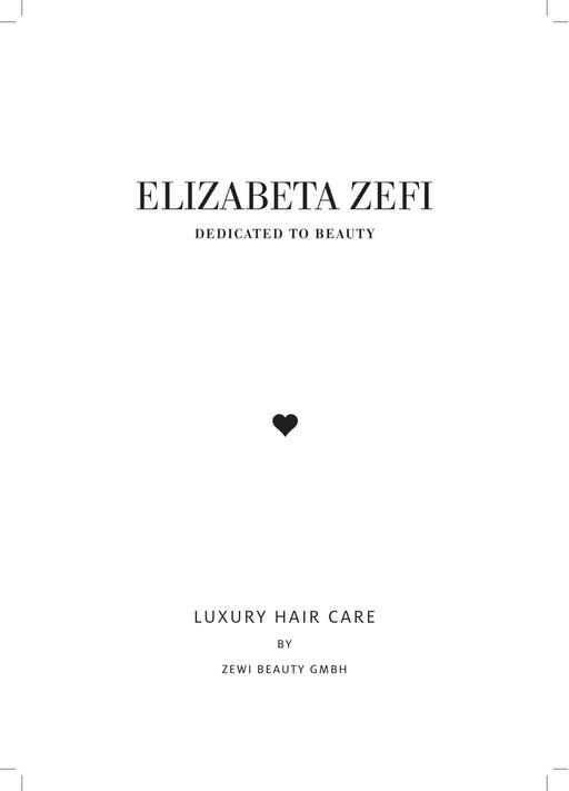 Elizabeta Zefi Dedicated To Beauty Markenbeschreibung Produktübersicht
