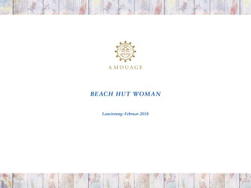 Amouage Beach Hut Woman TXT