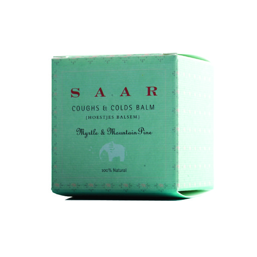 SAAR COUGHS & COLDS BALM Box