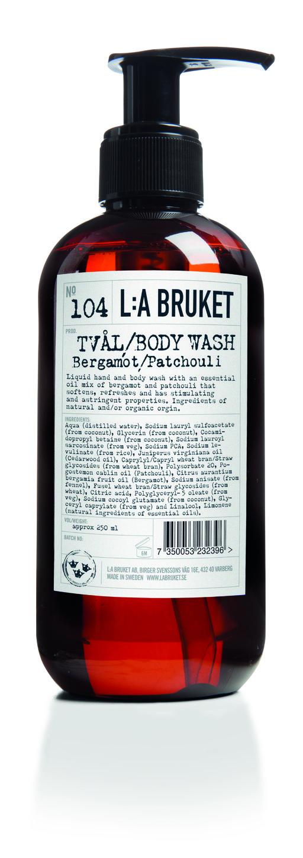 La Bruket Liquid Soap Bergamot Patchouli