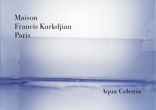 Maison Francis Kurkdjian Aqua Celestia TXT