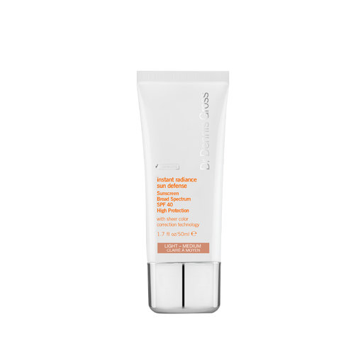 Dr Dennis Gross Instant Radiance Sun Defence SPF40 light medium