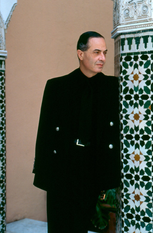 Serge Lutens Portrait Serge Lutens