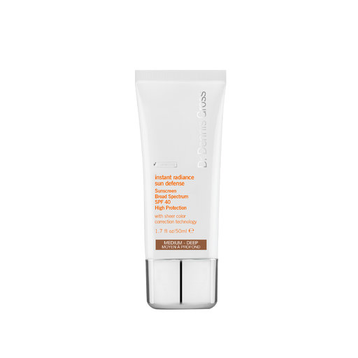 Dr Dennis Gross Instant Radiance Sun Defence SPF40 medium deep