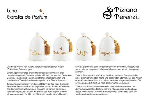 Tiziana Terenzi Produktübersicht