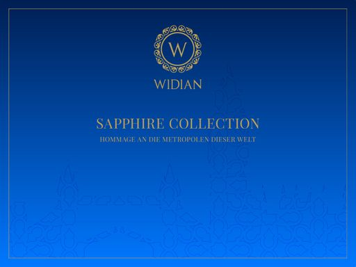 Widian Sapphire Collection London