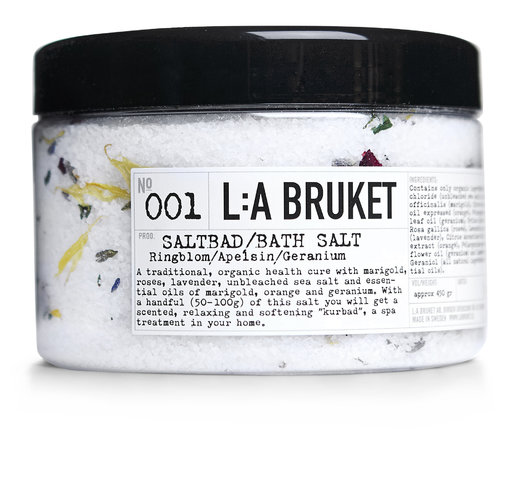 La Bruket Bath Salt Marigold Orange Geranium