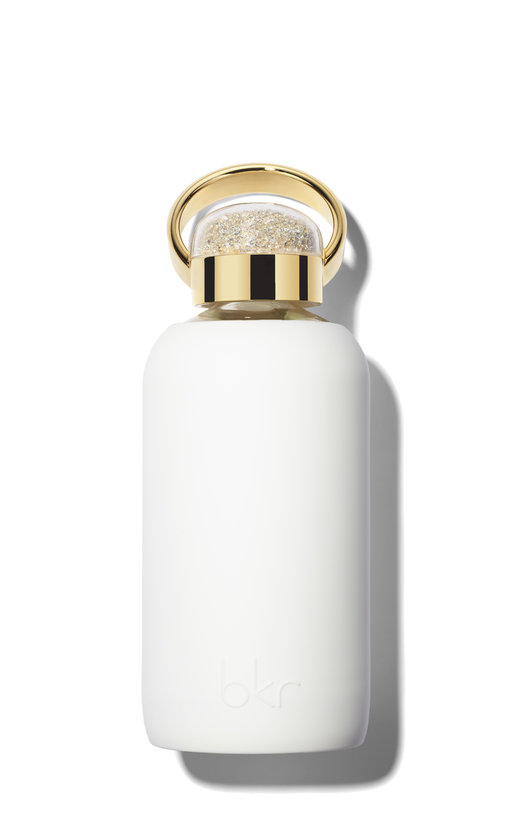 Bkr bottle Winter Gold Swarovski 500ml