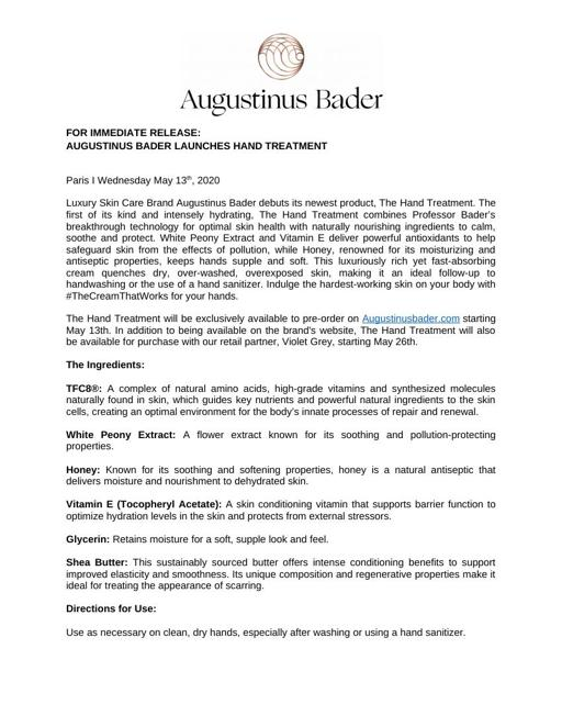 AUGUSTINUS BADER The Hand Treatment TXT