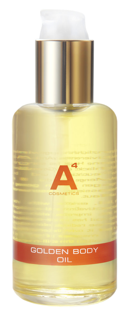 A4 Cosmetics Golden Body Oil