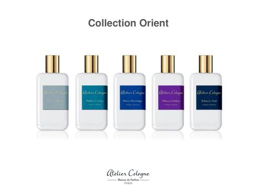 ATELIER COLOGNE Produktübersicht Collection Orient