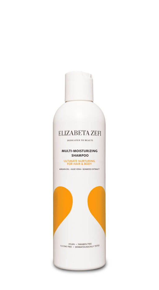 Elizabeta Zefi Dedicated To Beauty orange Multi Moisturizing Shampoo 1