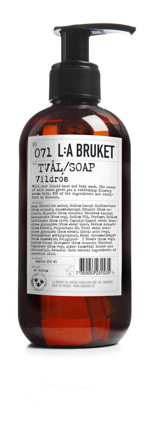 La Bruket Liquid Soap Wild Rose