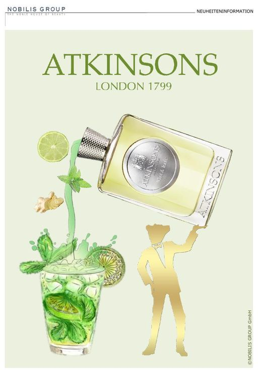 Atkinsons Mint & Tonic TXT