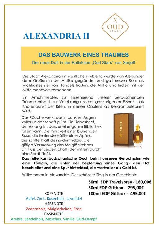 XERJOFF Alexandria II TXT