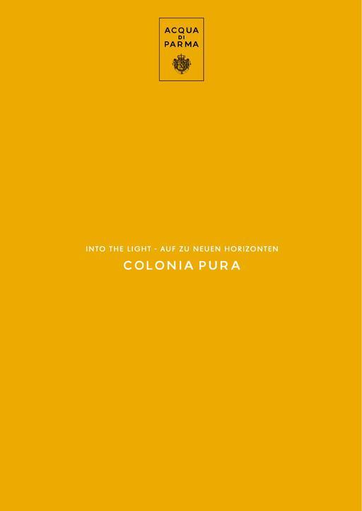 ACQUA DI PARMA Colonia Pura TXT