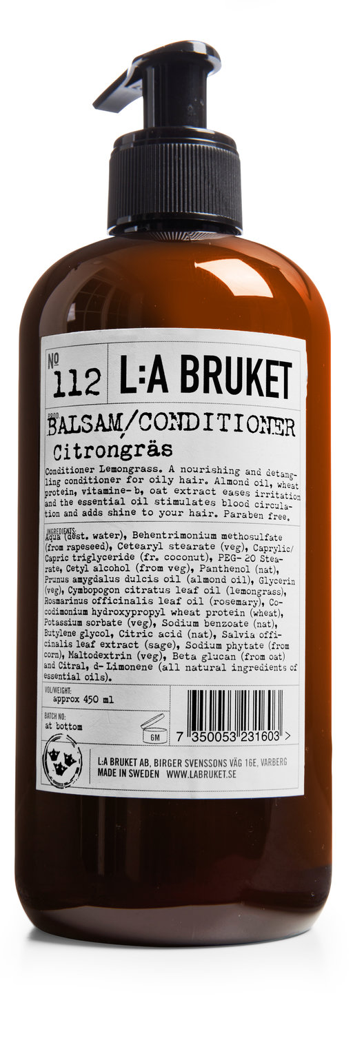 La Bruket Conditioner Lemongrass 450ml