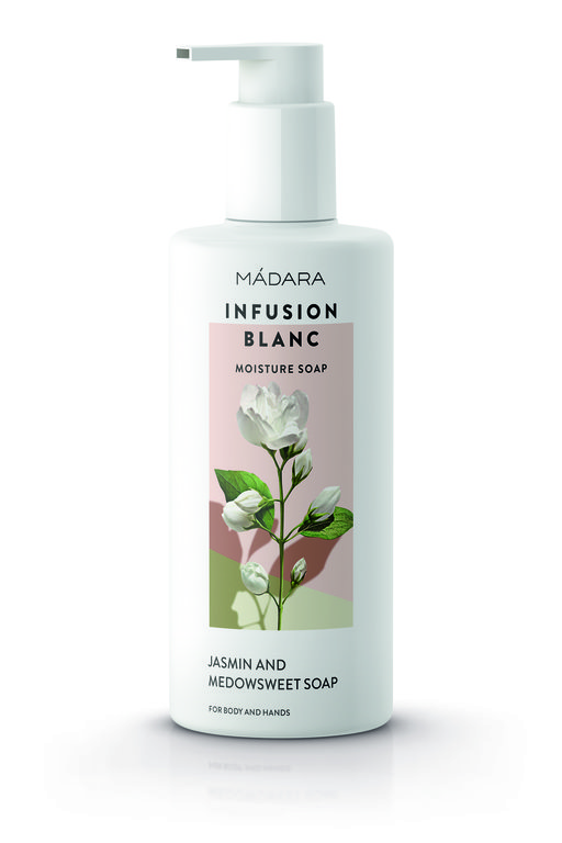 Mádara Infusion Blanc Moisture Soap for Body and Hands