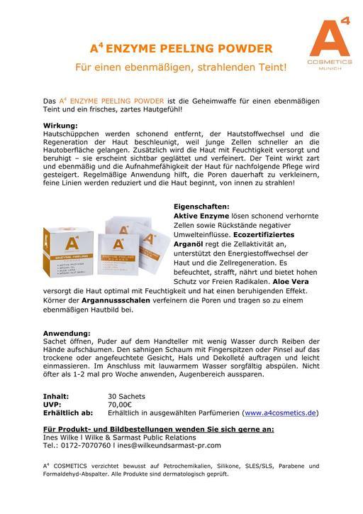 A4 Enzyme Peeling Powder TXT