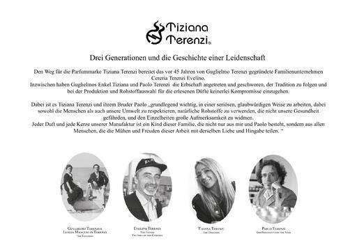 Tiziana Terenzi  Markenbeschreibung Produktübersicht