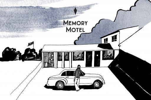 Une Nuit Nomade Memory Motel Illustration