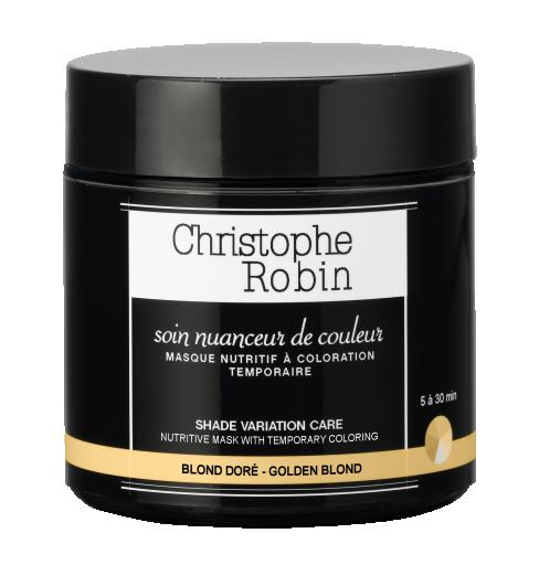 Christophe Robin Nutritive Mask with temporary Coloring Golden Blond