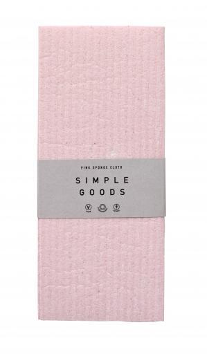Simple Goods Sponge Gloth Pink