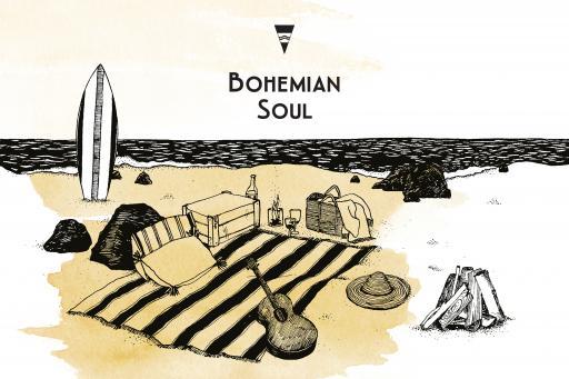 Une Nuit Nomade Bohemian Soul Illustration