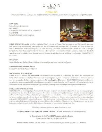 Clean Reserve Citron Fig TXT
