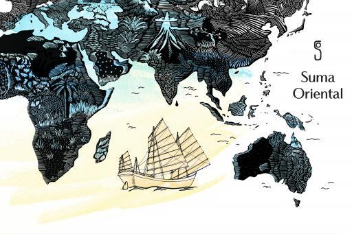 Une Nuit Nomade Suma Oriental Illustration