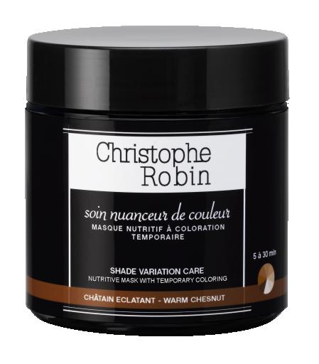 Christophe Robin Nutritive Mask with temporary Coloring Warm Chesnut