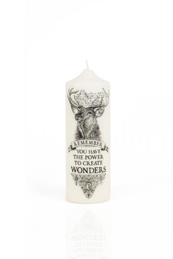 CORETERNO Visionary Pillar Candle Wonders