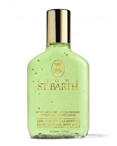 Ligne St Barth After Sun After Shave Aloe Vera Gel mit Minze