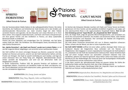 Tiziana Terenzi Spirito Fiorentino TXT