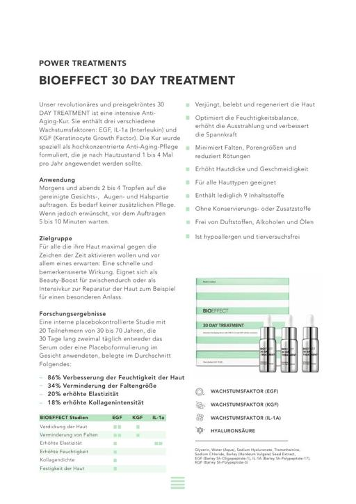 BIOEFFECT 30 DAY TREATMENT TXT