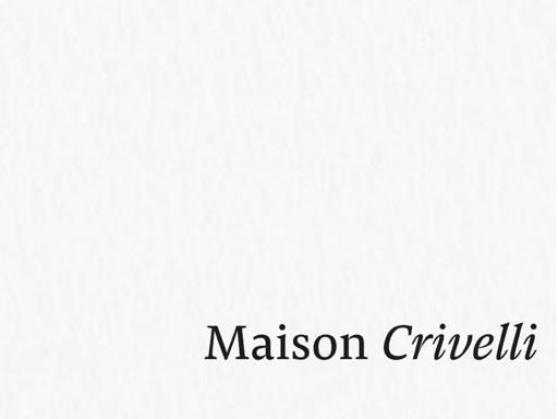 MAISON CRIVELLI Papyrus Moléculaire TXT