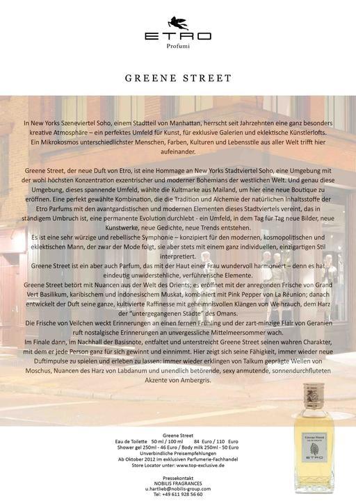 Etro Greene Street TXT