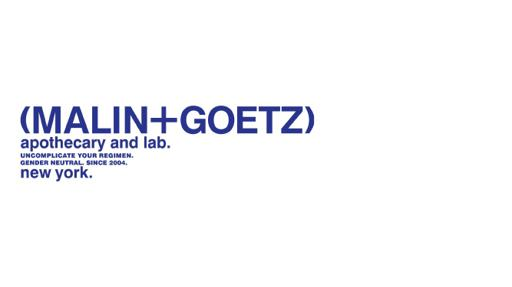 MALIN+GOETZ Markenpräsentation